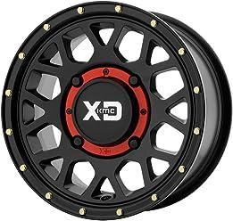 hexavalent compounds XD ATV XS234 ADDICT 2 BEADLOCK Satin Gray Wheel Chromium 14 x 7. inches //4 x 132 mm, 38 mm Offset