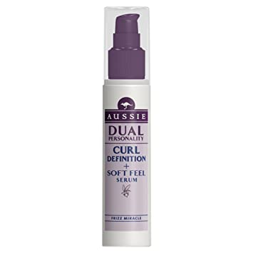 Aussie Dual Personality Curl Definition & Soft Feel Serum 75 ml (Pack of ...
