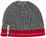 Swedish 100% Merino Wool Warm Soft and Thick Beanie Hat Cap (Skaftö Grå)