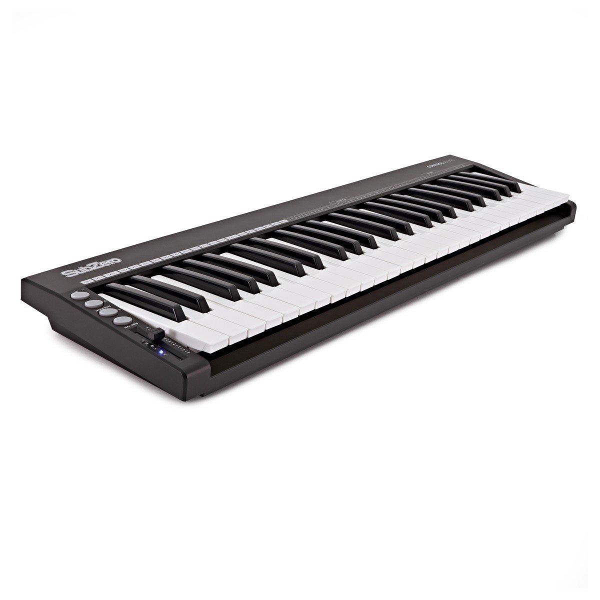 SubZero CONTROLKEY49S Teclado Controlador Slim MIDI de 49 teclas: Amazon.es: Instrumentos musicales