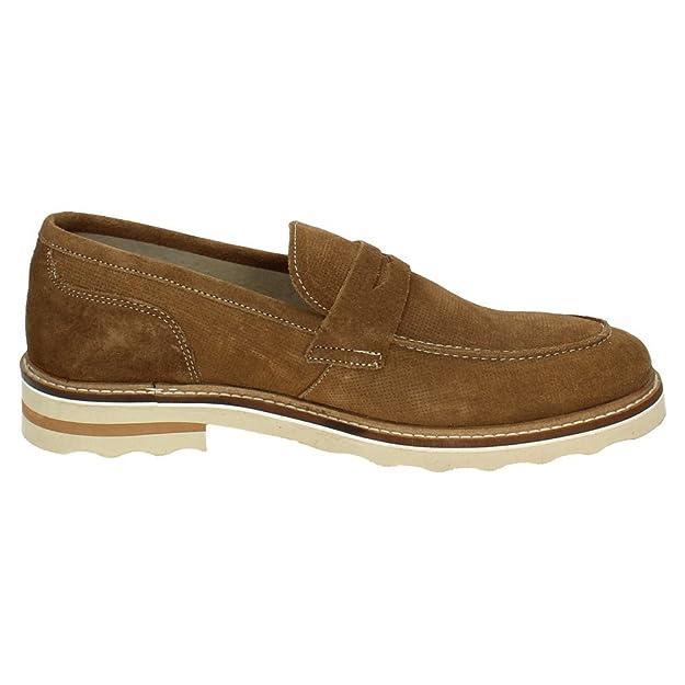 Zapato DE Hombre XTI Men Plano Mocasin Navy: Amazon.es: Zapatos y complementos