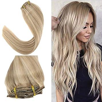 Mittellange haare blond gestrahnt