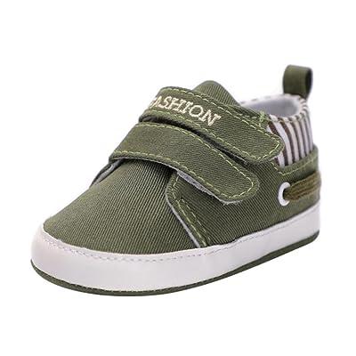 Jamicy Chaussures Premiers Pas Pour Bébé (Fille) Blanc Red 0-12 Mois