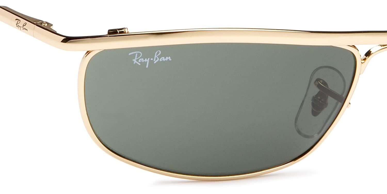 e1491e15ce Amazon.com  Ray-Ban RB3119 Olympian Sunglasses Arista Crystal Green 59mm   Ray-Ban  Shoes
