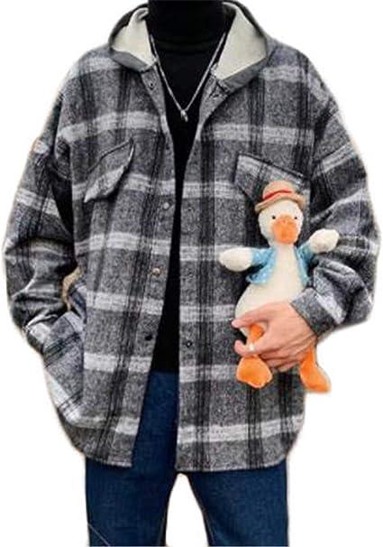 [フ二ンー] メンズ ジャケット スタジャン 長袖ジャンパー アウター ゆったり おしゃれス 春秋冬服 メンズ ブルゾン オーバーサイズ コート ハンサム カッコイイ