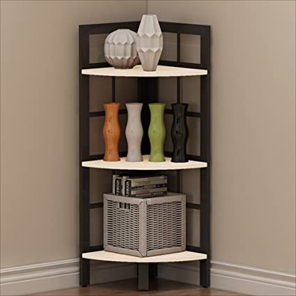 Amazon.com: NAN Liang Bedroom Corner Bookshelf Corner Rack Living ...