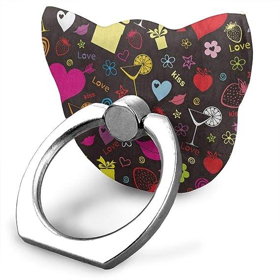 Amazon Com Premium Customized Finger Ring Stand Valentine S