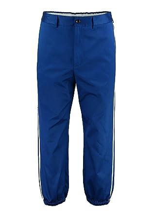 dc369f88977 Gucci Men's 450371Z37324125 Blue Cotton Pants: Amazon.co.uk: Clothing