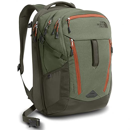 Amazon.com  The North Face Surge Backpack - New Taupe Green Four ... 365b5d19b3f63