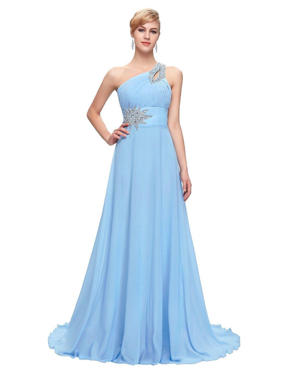 女性の新しいワンショルダーイブニングドレス、花嫁のトーストスーツ、花嫁介添人のドレス、宴会のホストイブニングドレス B07FM4DHKX S|3 3 S