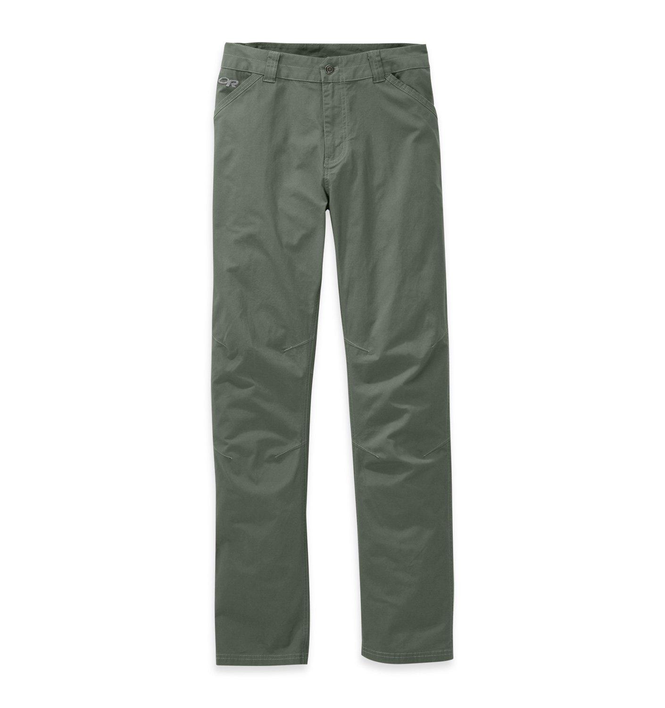 Outdoor Research Men's Brickyard Pants, Sage Green, 32