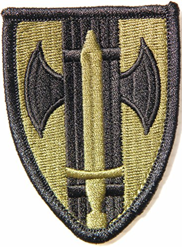 18th M.P. BDE 1966 -1973 VIETNAM USAF Air Force Army Military Logo Shield Jacket Uniform Patch Sew Iron on Embroidered Sign Badge Costume (Improvised Halloween Costumes Adults)