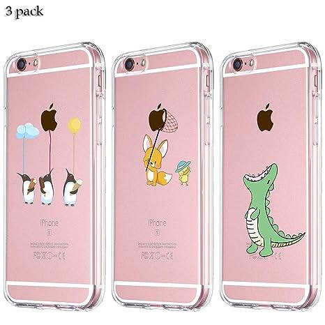 Yalixin [3 Pack] iPhone 6 Funda, iPhone 6S Funda Ultrafina ...