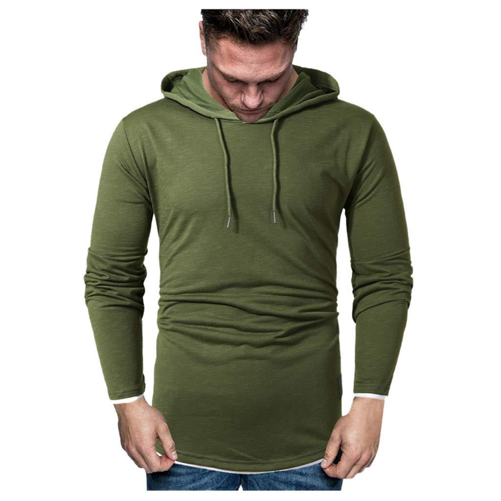Herren Hoodie Männer Kapuzenpullover warme Winter Sweatshirt-mit Kapuze Outwear Outdoorjacken Kostüm Kölner Karneval Herrenjacke CICIYONER