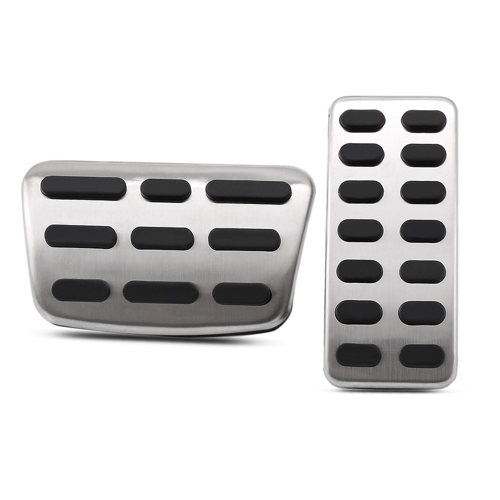 Amazon.com: Auntwhale Car Pedal Car Brake Pedal Stainless Manual/Automatic Pad Accessories: Automotive
