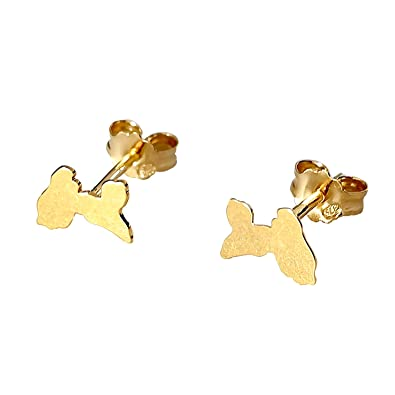 37510009 Guadeloupe Or Diamantly Boucles Carte D'oreilles N8nwm0v