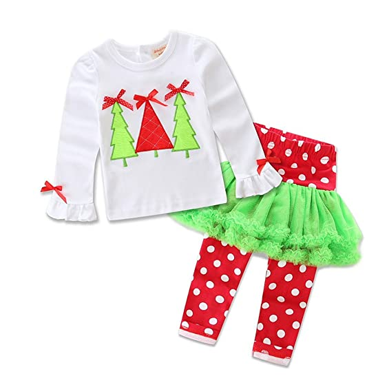 tinaluling toddler girls boutique christmas outfits kids clothes sets 12m sa 01