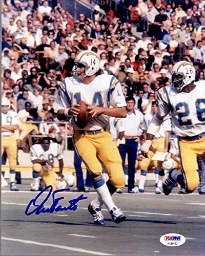 Dan Fouts Autographed San Diego Chargers 8x10 inch Photo PSA/DNA Authentic ()