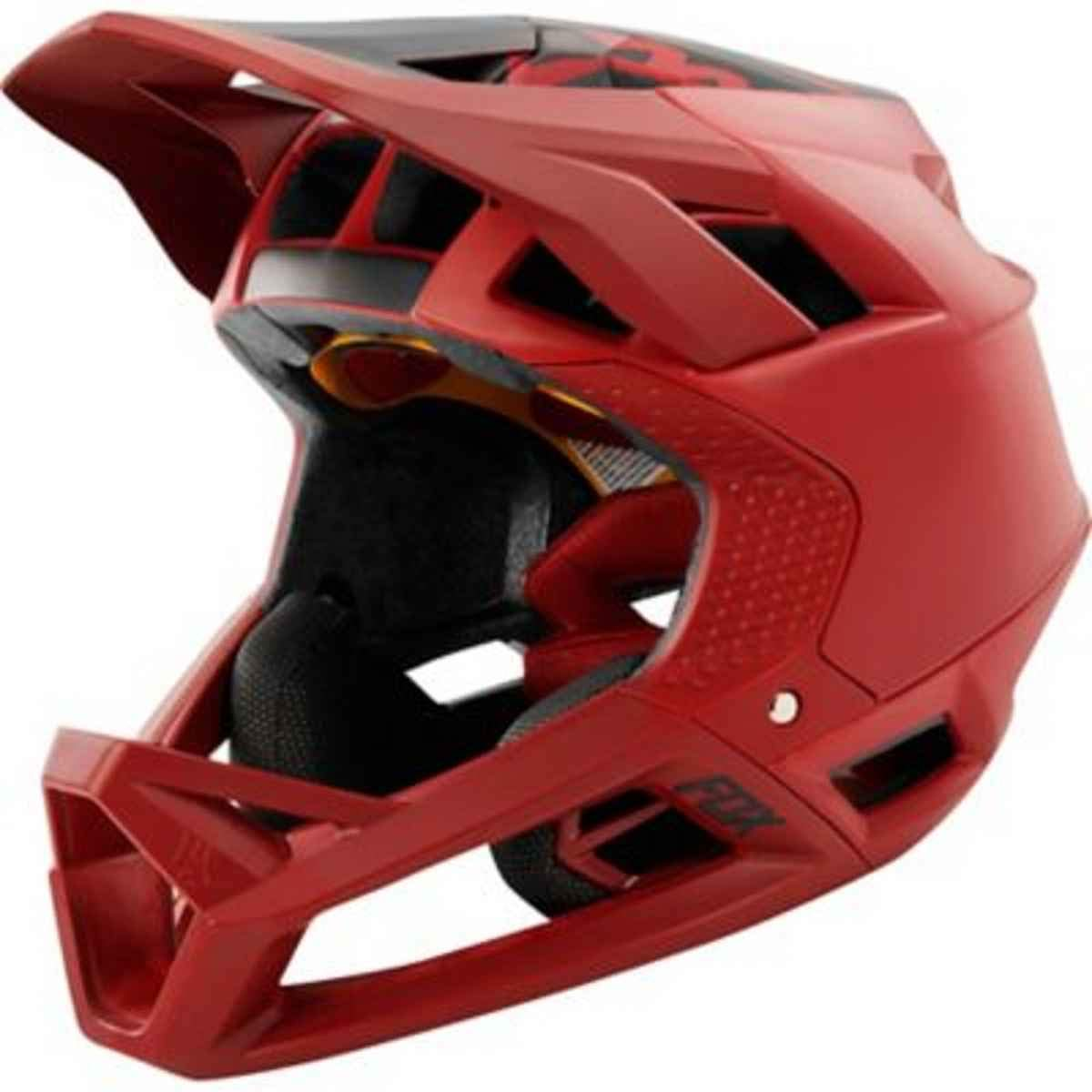 Fox Downhill-MTB Helm Proframe Matte Cardinal