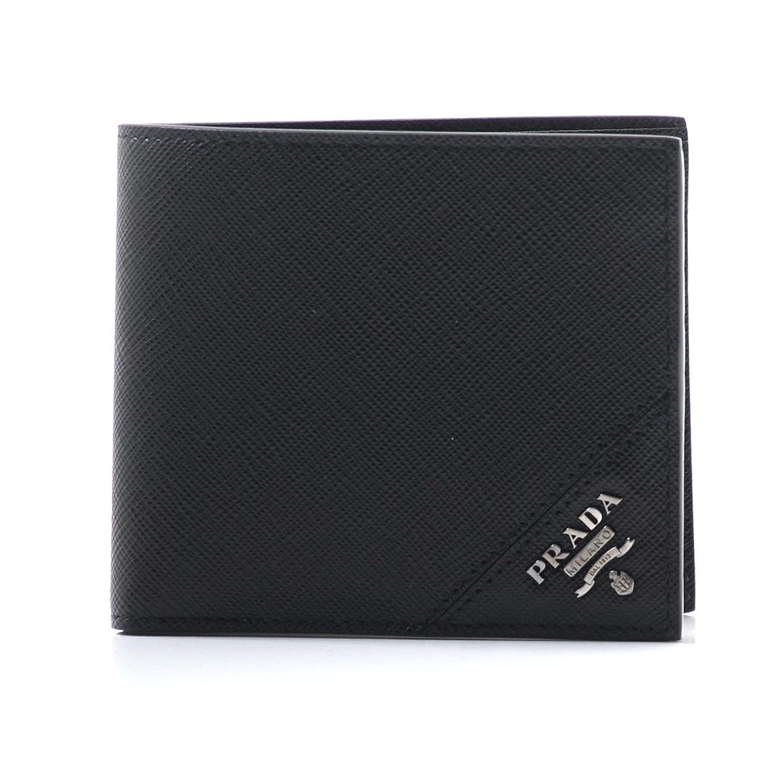 (プラダ) PRADA 2つ折り 財布 小銭入れ付き SAFFIANO サフィアーノ [並行輸入品] B07922RVG4