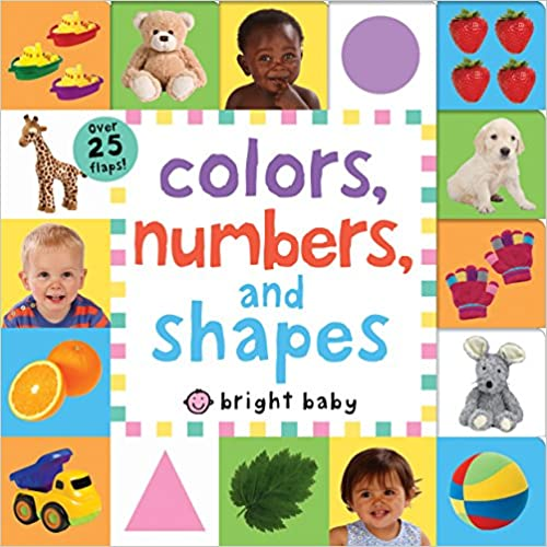 Numbers Colors Lift-the-Flap Tab Shapes