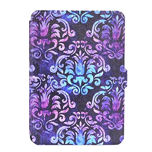 Price comparison product image Kindle Paperwhite Case,Sunfei White Patterned Leather Case Cover for Amazon kindle Paper 1/2/3 6.0 inch (G)