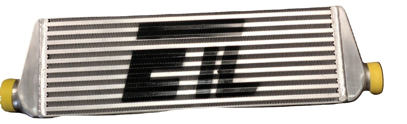 Universal Intercooler for turbo or supercharger 27.30'W x 7.08'H x 2.56'T 2.00 Inlet/Outlet Diameter ETL Performance Products
