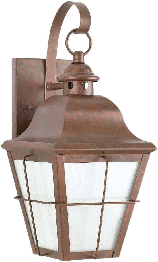 Sea Gull Lighting 8462D-44 Chatham Outdoor Manufacturer direct delivery Ranking TOP1 Wall One-Light Lanter