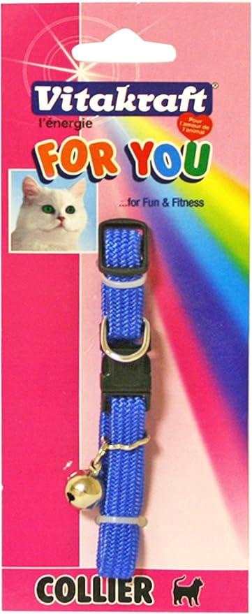 VITAKRAFT collar gato elástico Nylon – Modelo Aleatorio