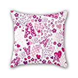NICEPLW love pillowcover 16 x 16 inches / 40 by 40 cm for living room,car seat,drawing room,club,son,home with 2 sides