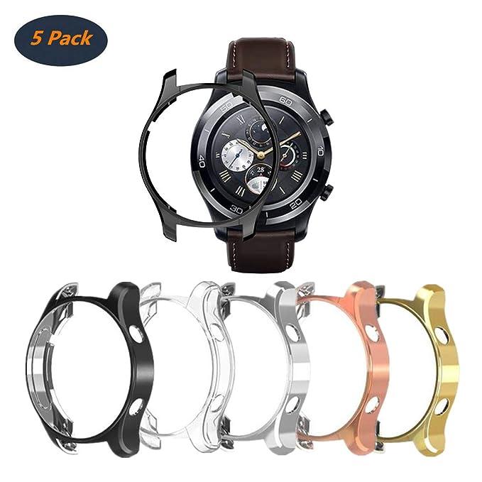 FOLOME Funda para Huawei Watch 2 Classic/2 Pro ...