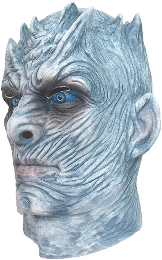 YUANZHOU Juego De Tronos Night King White Walker Máscara De Cabeza ...