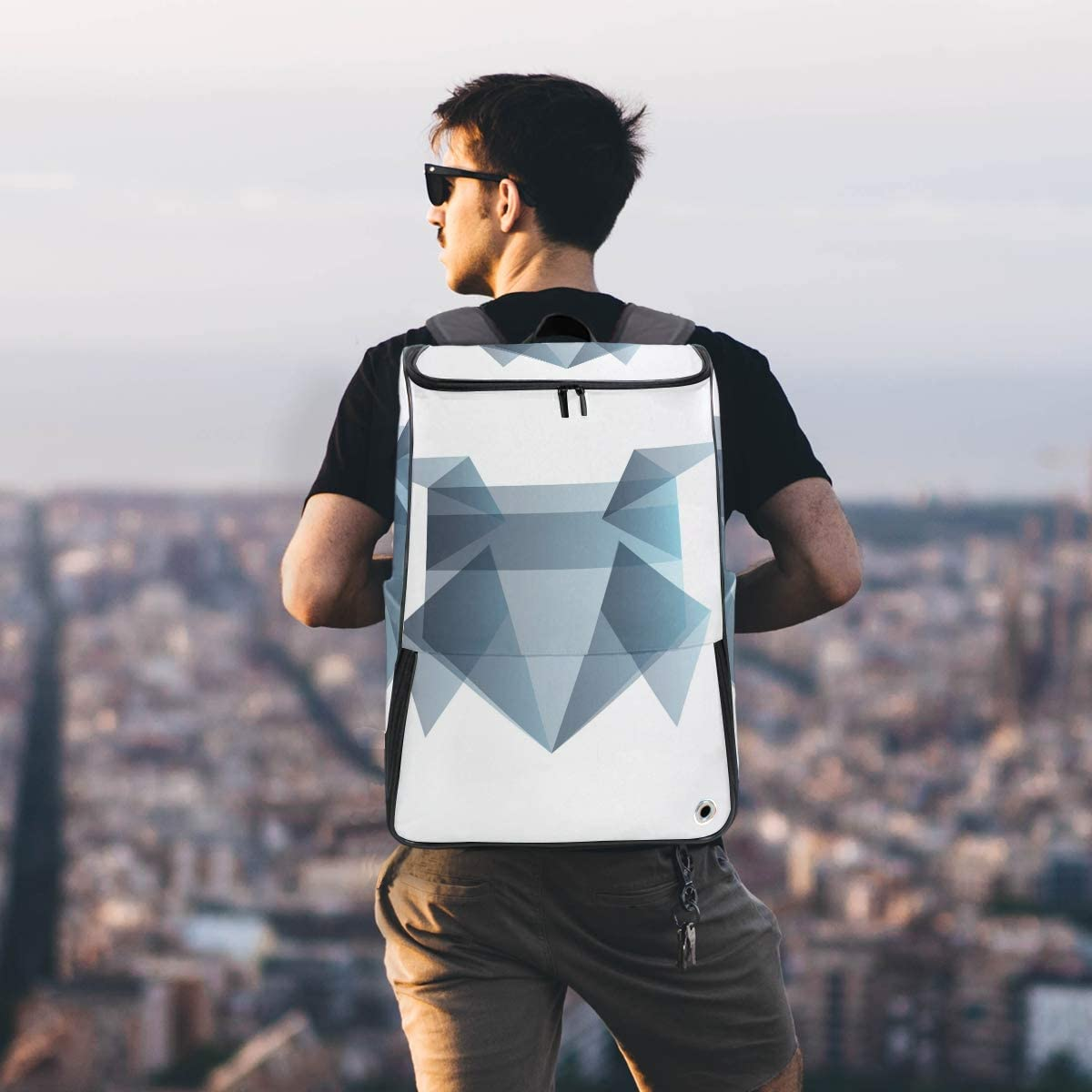 MONTOJ Origami Frog Outdoor Hiking Backpack Hiking /& Travelling Backpack with Laptop Compartment /& Camping Backpack