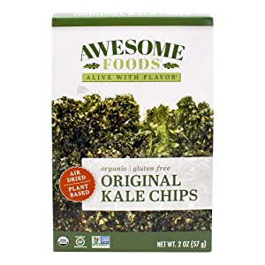 Awesome Food, Chip Kale Original Organic, 2.5 Ounce