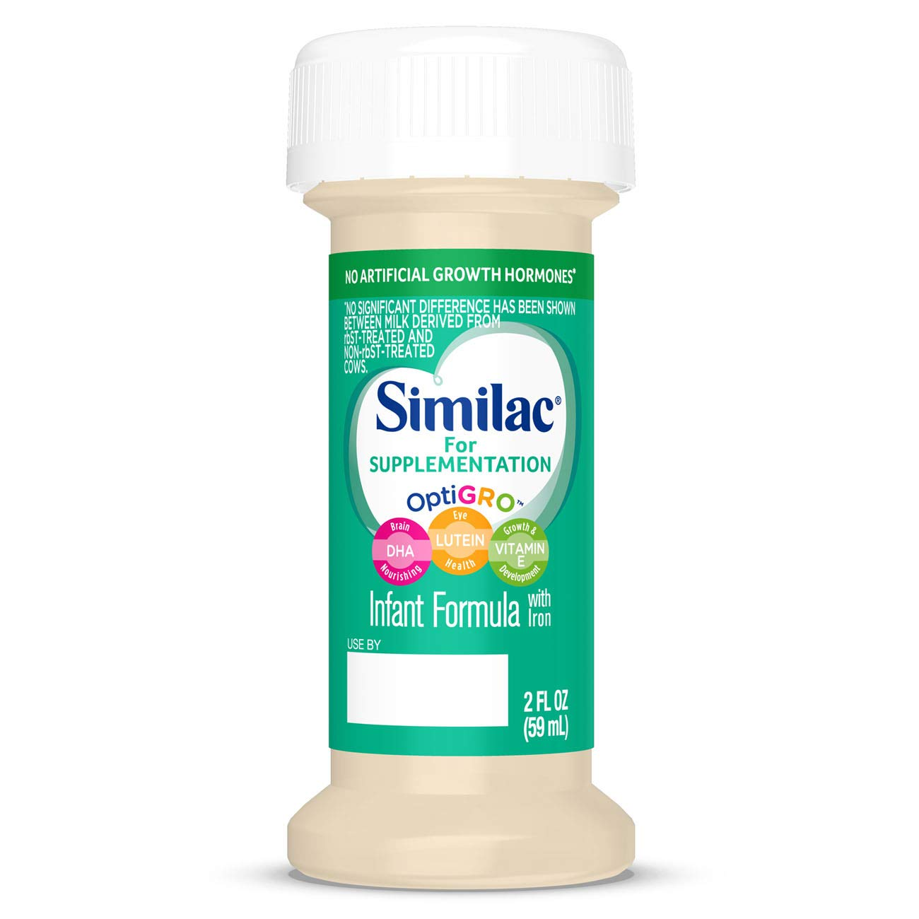 Similac For Supplementation Infant Formula with Iron, Ready-to-Feed Bottles, 2 Ounce, (48 ct) by Similac (Image #1)