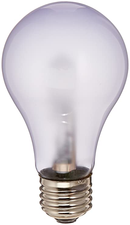 Frosted Light Bulbs >> Chromalux Light Bulb Frosted 60w 1 Bulb