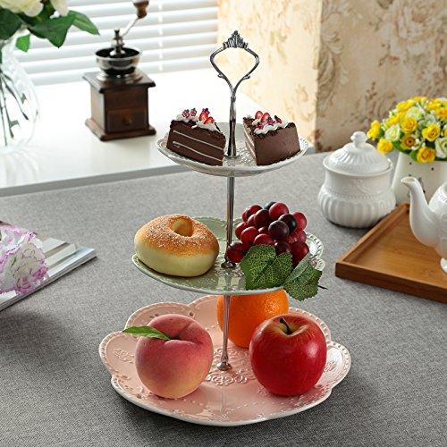 Review Jusalpha 3-tier Ceramic Cake