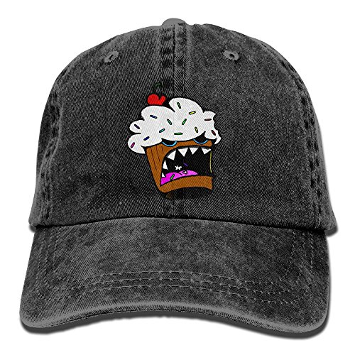 Cannibal Cupcake Baseball Caps Adult Sport Cowboy Trucker Hats Adjustable Black By - Mall In Portland The Stores