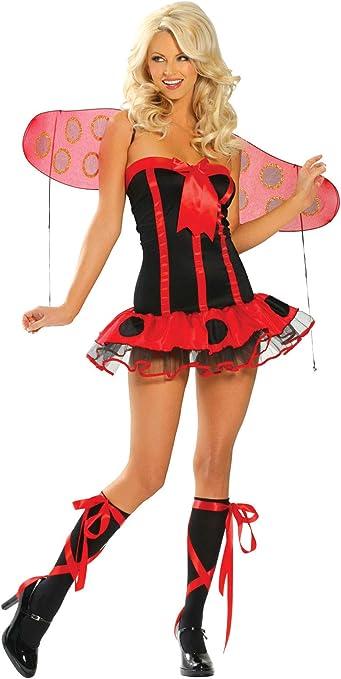 EL CARNAVAL Disfraz Mariquita Mujer Adulto: Amazon.es: Hogar