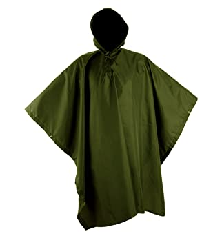 0f1d8d10a00 Ferocity Chubasquero Impermeable con Capucha Ultraligero Poncho Camuflaje  Verde [016]: Amazon.es: Deportes y aire libre