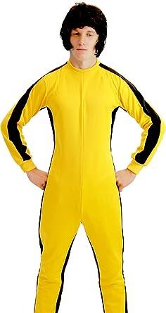 Amazon.com: Game of Death Kill Bill Bruce Lee Jumpsuit Costume ...