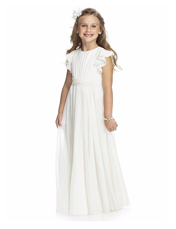 dressvip Dressvip Weiß Blumen Mädchen Kleid Mädchen Geburtstags ...