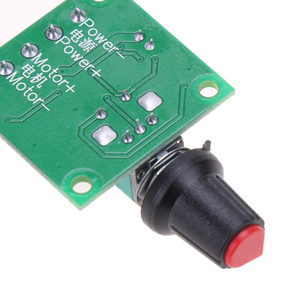 Vanpower Pwm Dc 18v 3v 5v 6v 12v 2a Low Voltage Motor Speed Control Circuit Controller