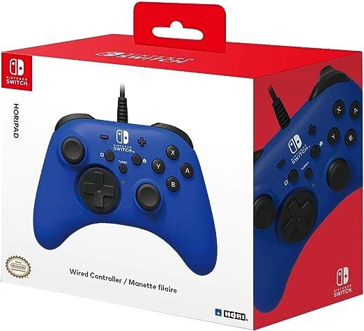 HORI - Horipad azul (Nintendo Switch): Amazon.es: Videojuegos
