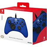 Nintendo Switch HORIPAD Wired Controller (Blue) by HORI - Licensed by Nintendo