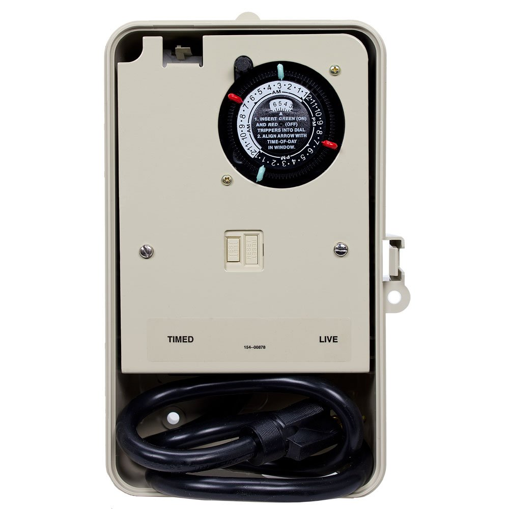 Intermatic P1261P Portable Outdoor Timer 2 Receptacle