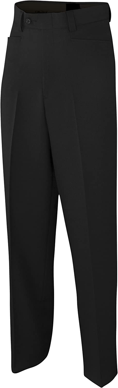 Adams USA Referee Basketball Flat Front Poly//Spandex Uniform Pants
