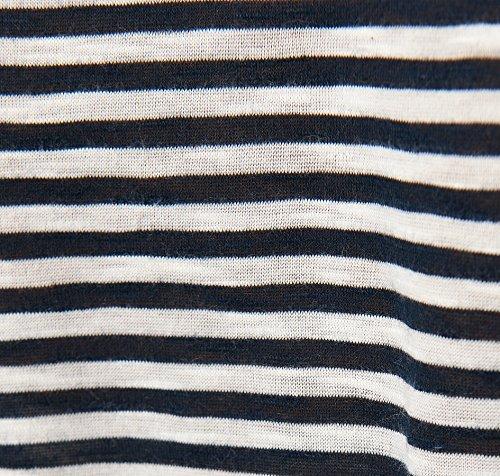 TOM TAILOR Denim Camiseta manga larga Mujer azul oscuro
