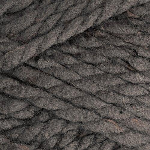 Premier Yarns Premier Mega Tweed Super Bulky Yarn 02 Gray Tweed, Gray Tweed