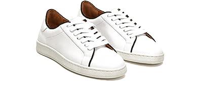 FRYE 3479981 Women's Alexis Low Lace Sneaker, White/Black ...